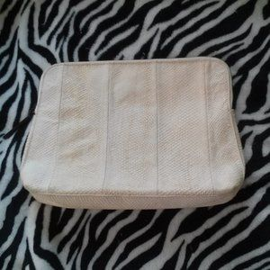 3.1 Phillip Lim Embossed Leather Clutch Snakeskin